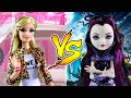 BARBIE VS RAVEN QUEEN - EVER AFTER HIGH