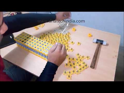 DIY Solderless Battery Pack assembly kit for 18650 Lithium ion Battery