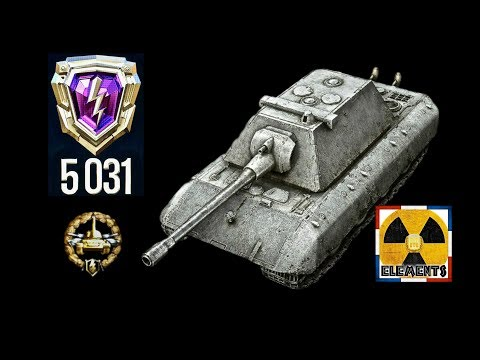Rating Battle #2 E100 world of tank blitz gameplay + AMMORAC