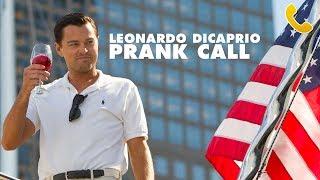 LEONARDO DICAPRIO PRANK CALL