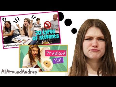 Reacting To My Most Popular Videos / AllAroundAudrey