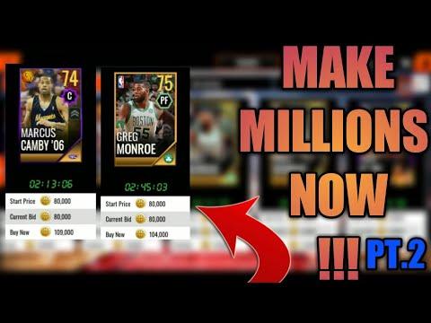 GOLD PLAYER GLITCH MAKE MILLONS AUTOMATIC COIN GLITCH NBA LIVE MOBILE 18