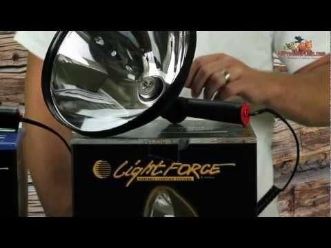 Lightforce Spotlights for Night Hunting SL140 SL170 SL240 140 170 240