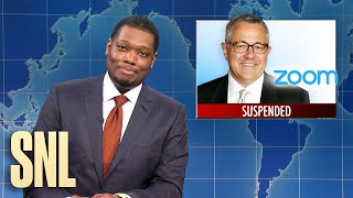 Weekend Update: Jeffrey Toobin Zooms & Mitch McConnell's Hands - SNL