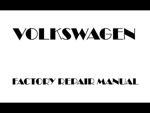 Vw Pdf Manual
