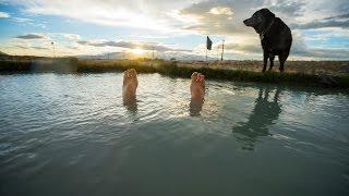 Hot Springs at Burning Man - Pushing North 40