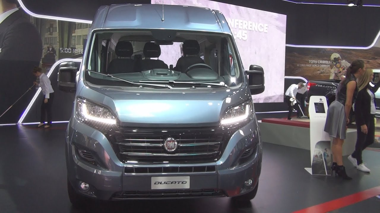 fiat ducato combi shuttle l3h2 2 3 ecojet 150hp scr 2017 exterior and interior youtube. Black Bedroom Furniture Sets. Home Design Ideas