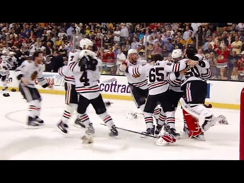 Stanley Cup Final celebrations of the last 10 years