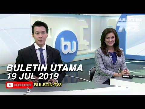 Buletin Utama TV3 Jam 8 Malam (19 Jul 2019)