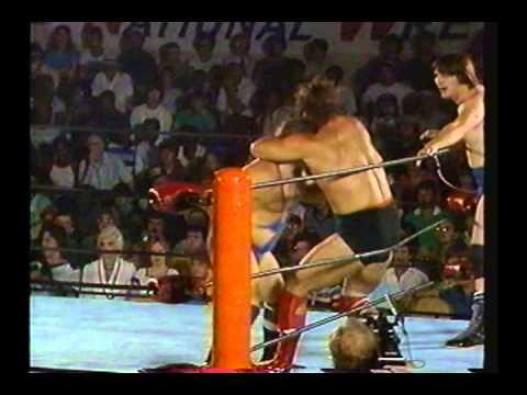 NWA Barry Windham & Mike Rotundo vs Paul Kelly & Gary Royal