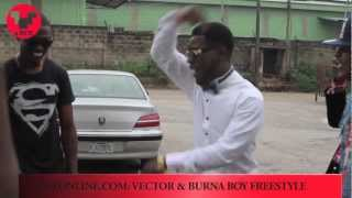 Burna Boy & Vector- freestyle (VMZ Entertainment)
