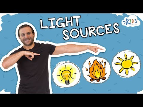 Sources of Light  Science for Kids  Kids Academy