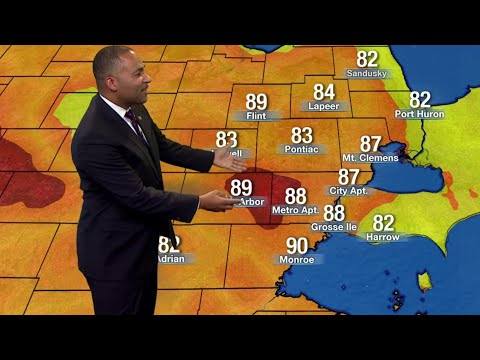 Metro Detroit weather brief, 7/17/2019, noon update