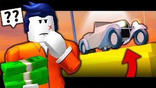 ¡EL ULTIMO INVITADO COMPRA UN COCHE DE DISTANCIA! ( Una historia de juego de rol de actualización de Jailbreak de Roblox)