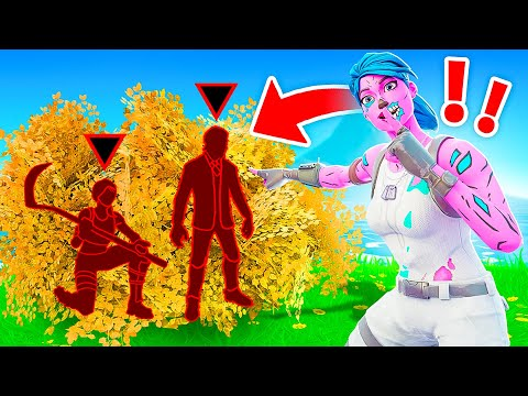 I SECRETLY Cheated in my HIDE or SNITCH... (Fortnite)