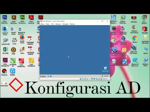 konfigurasi DNS, DHCP, AD, WEB server, dan public FTP server ( windows 2003)