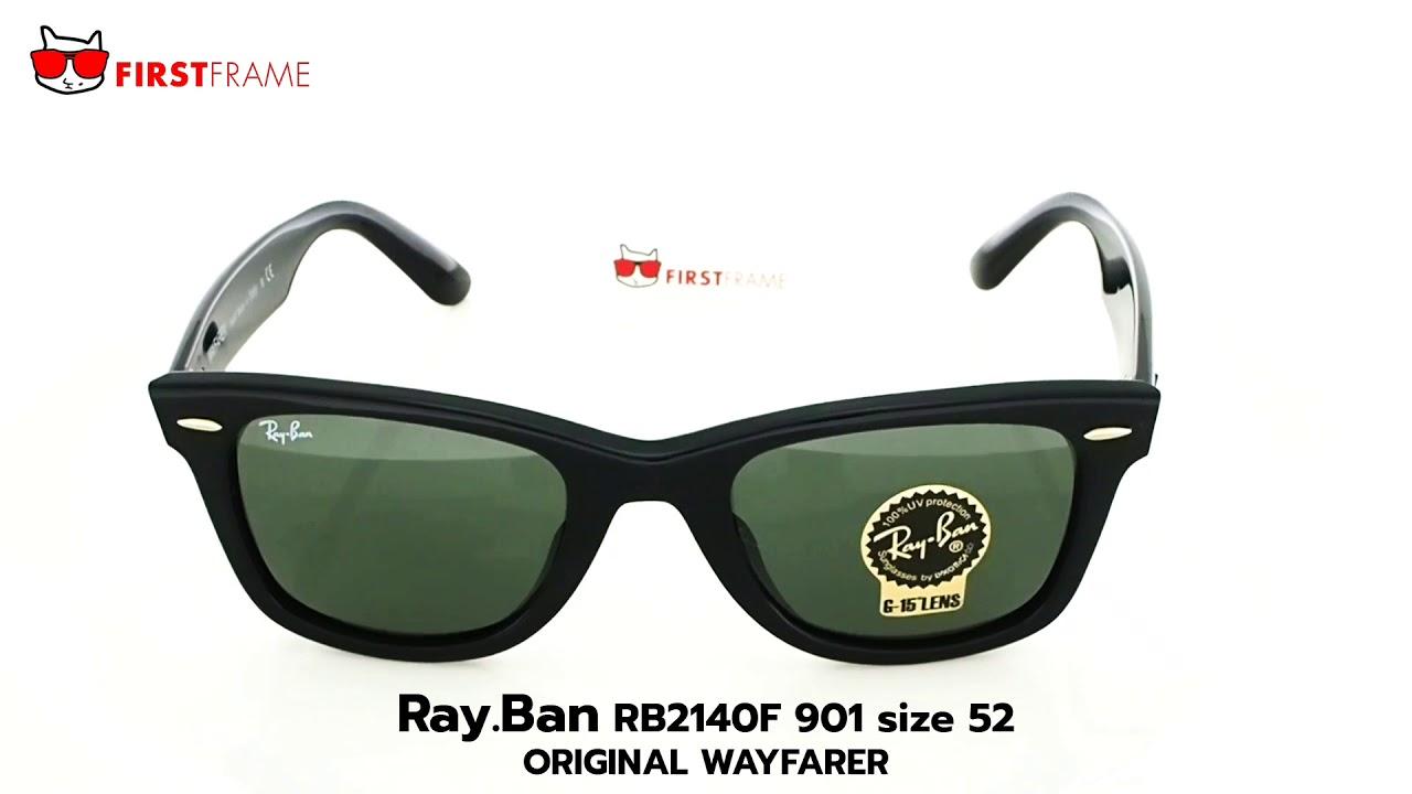 90ef5ee788 RayBan RB2140F 901 ORIGINAL WAYFARER