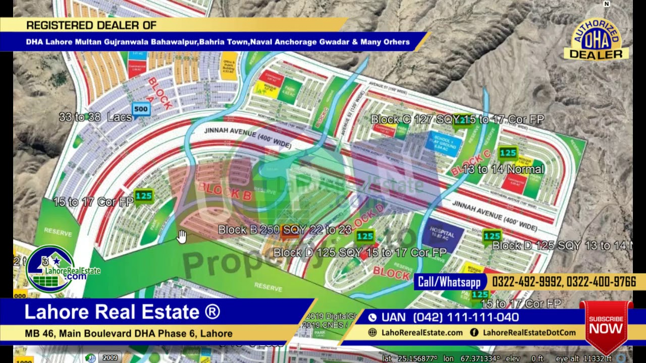 Bahria Town Karachi Precinct 38 to 41 to 45 Valley ABCD Plots Latest Prices  Map Study April 18 2019