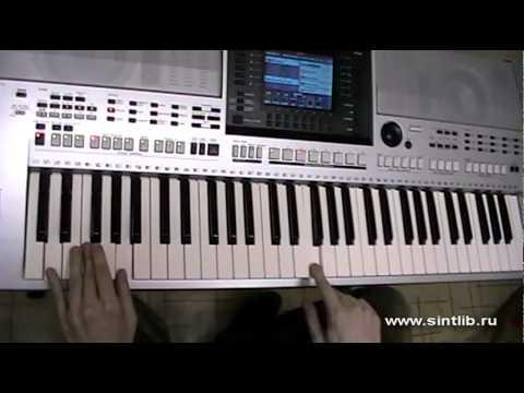 Руки Вверх - Чужие губы игра на синтезаторе