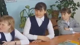 Урок русского языка в 6 классе НСШ