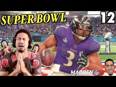 GAWD HELP US!!! Super Bowl!! Madden 18 Career Mode #12