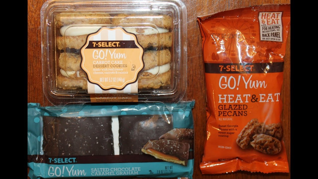 7 Eleven 7 Select Go Yum Carrot Cake Cookies Glazed
