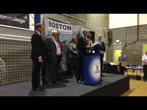 Election results - Boston & Skegness 2017