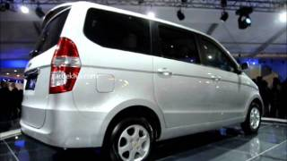 Chevrolet's new MPV Enjoy at the 2012 Auto Expo