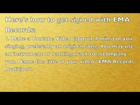EMA Records AUDITIONS!