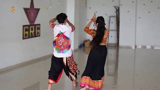 Salsa Garba | Salsa Garba Tutorial | Salsa Garba Dance Performance | Couple Salsa Garba
