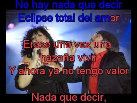 Amanda Miguel y Diego Verdaguer   Eclipse total del amor   Eclipse Total Del Amor