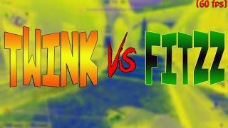 Twink против Fitzz CS:GO батл [60 fps]