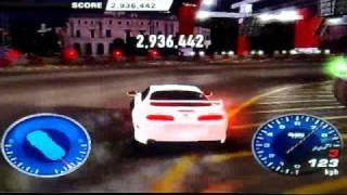 Juiced 2 PS2 Crazy Drift 7.440.000 millions