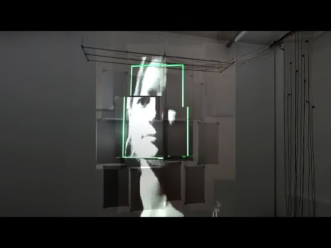 """I am Sound,"" demo video of the interactive face-to-music video installation"