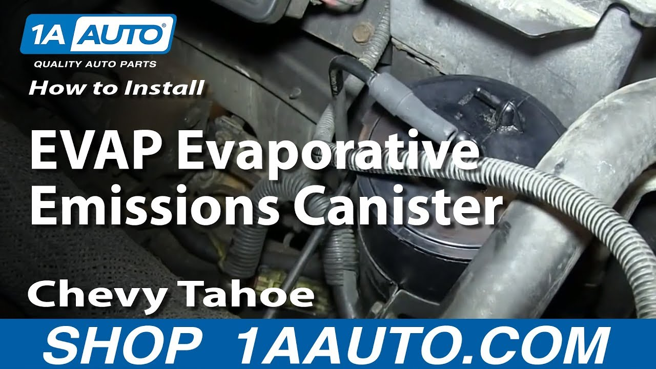 How To Replace Evap Canister 96 99 Chevy Tahoe Youtube