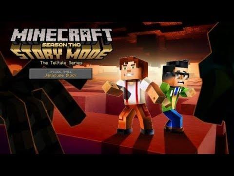 Telltale's Minecraft Story Mode Season 2 Episode 3 Jailhouse Block (Full)