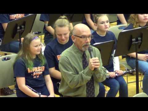 Riverside Intermediate 6th Grade Band, December 14, 2016