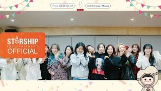 [Special Clip] 우주소녀(WJSN) 2nd Anniversary Message