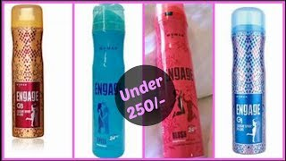 Engage Deo and Cologne Spray Review Affordable Fragrances SunnyAndTwinkle