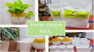 Home Centre Haul/Decorative,Ceramic planters/Home Decor Haul From HomeCentre/Naaz's Life