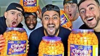 1,000 CHEESEBALL EATING CHALLENGE!! (IMPOSSIBLE?)