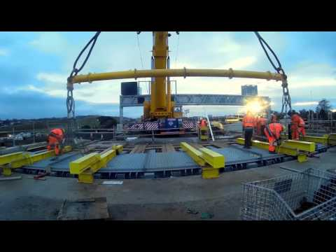Queensferry Crossing Scotland – Installation Of Expansion Joints