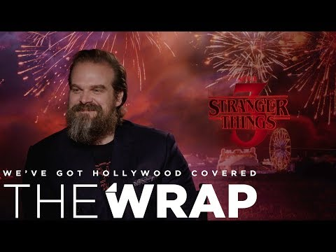 Kristin Lessard & Steve Kelly  - David Harbour Says the Wait is Worth it for Stranger Things Season 3