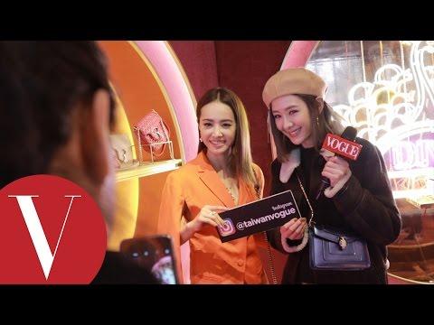安心亞米蘭看秀日記 #4 BVLGARI活動和蔡依林大聊購物經!猜猜女神們都喜歡哪個包?