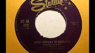 Azie Lawrence & Carib Serenaders - West Indians In England (Starlite 45)