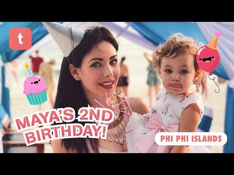 MAYA'S 2ND BIRTHDAY • PHI PHI ISLANDS TRIP — OUR FAMILY TRAVELBOOK ♥ Place To Visit In Thailand 2018