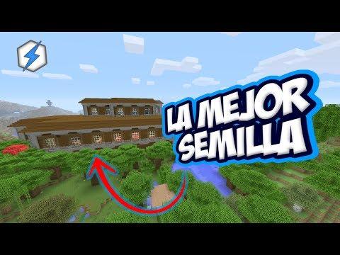 Tu Minecraft Semilla Con Una Mansion Aldeas Templos Mas