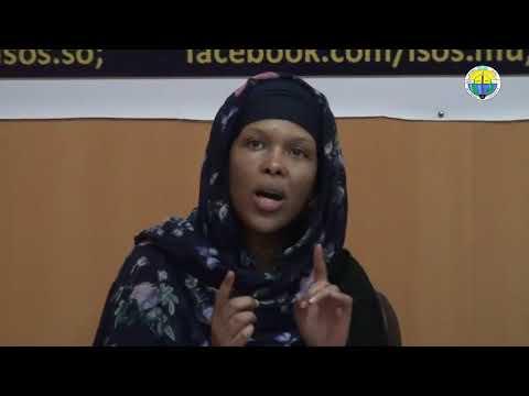 Dr. Idil Osman oo PhD ka diyaarisay Diasporic media and Somali conflict