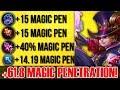 HARLEY +61.8 MAGIC PENETRATION BUILD BY GLOBAL TOP #2 HARLEY! 10 KILLS GAMEPLAY MOBILE LEGENDS!