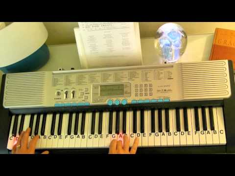 How to Play ~ Victory In Jesus ~ Gospel Favorite ~ LetterNotePlayer ©